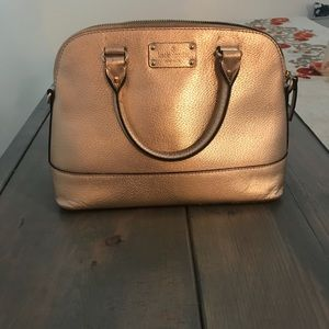 Rose Gold  Kate Spade Purse - Maise